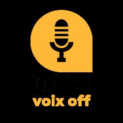 voix off logo